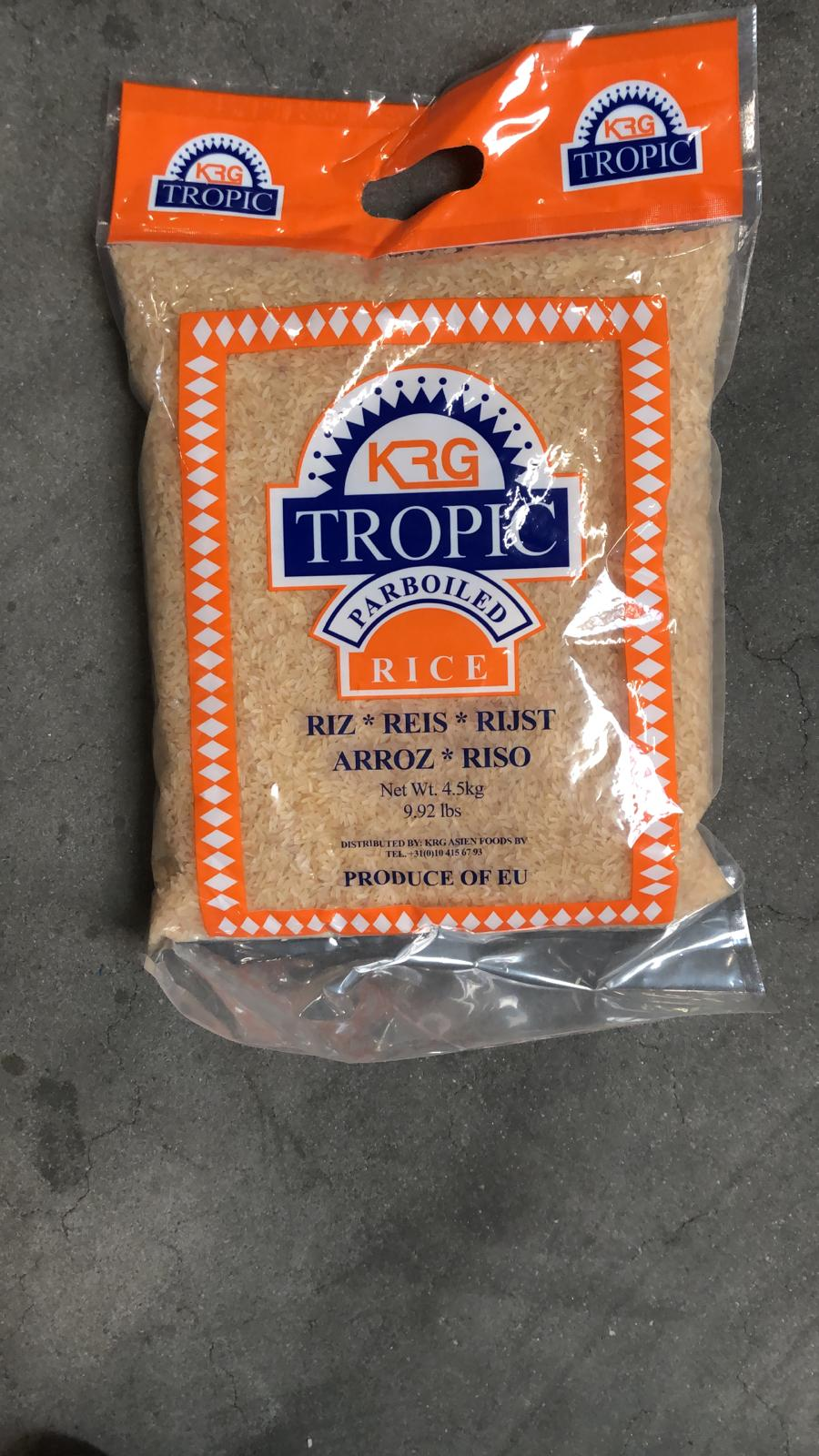 Tropic Parboiled Rice ( 4,5 kg. ) Image